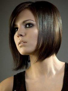 coupes de cheveux asymétrique