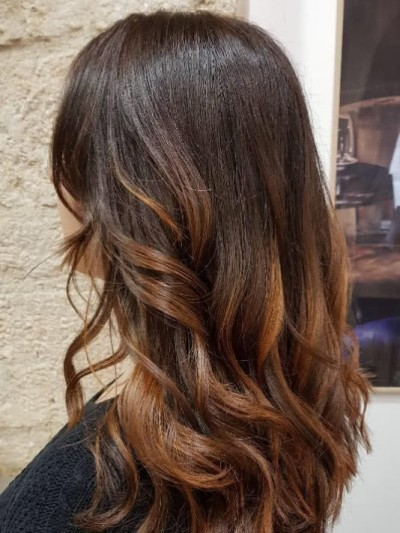 coiffeur lyon 8 bio végétale salon de coiffure coloration marron